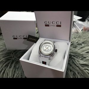 65da8e7809483d Gucci Accessories - Gucci Sync Xxl Rubber Dial Watch YA137102